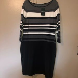 Ralph Lauren sweater dress NWT